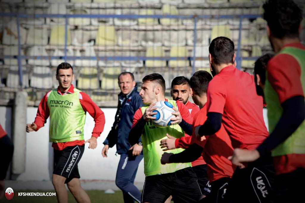 Shkendija preparing fro cup clash against Vardar