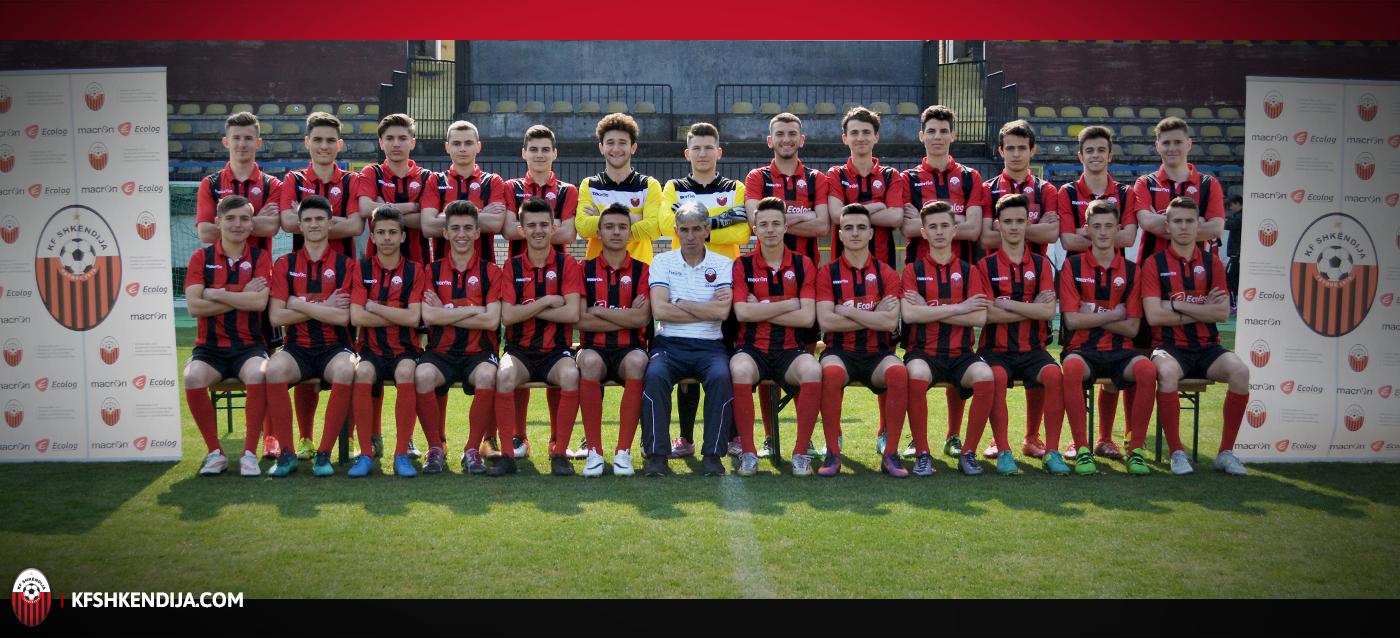 KF Shkëndija U17 | Trajner: Ibraim Luma