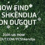 KF Shkëndija joins digital platform Dugout
