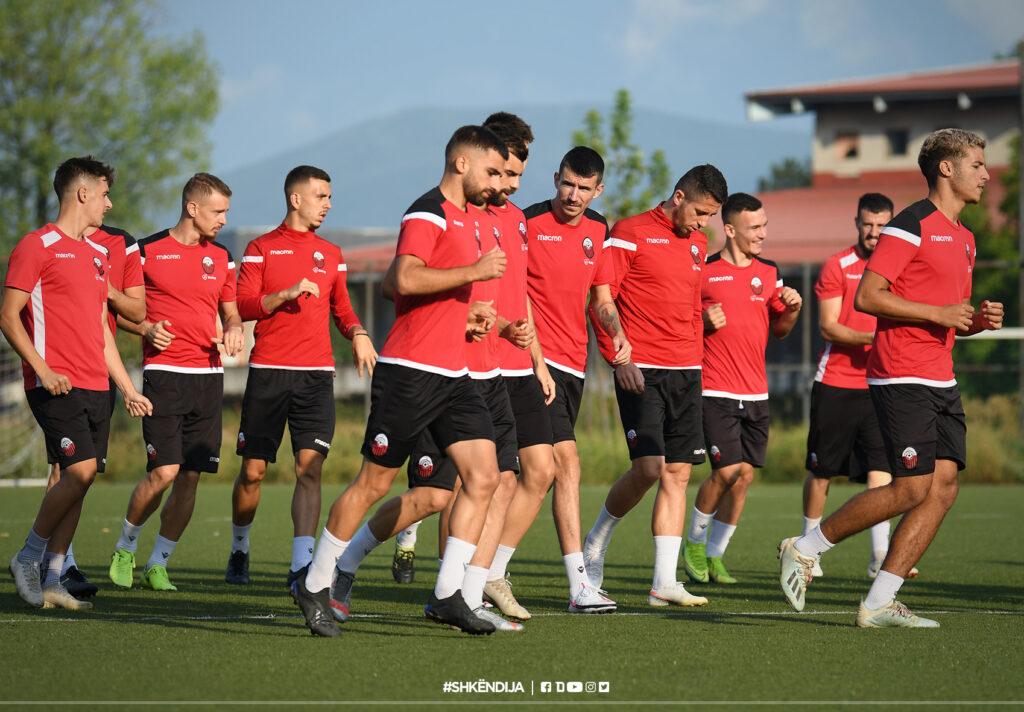 Last session ahead of Thursday's UEL tie against Sumgayit (AZE)